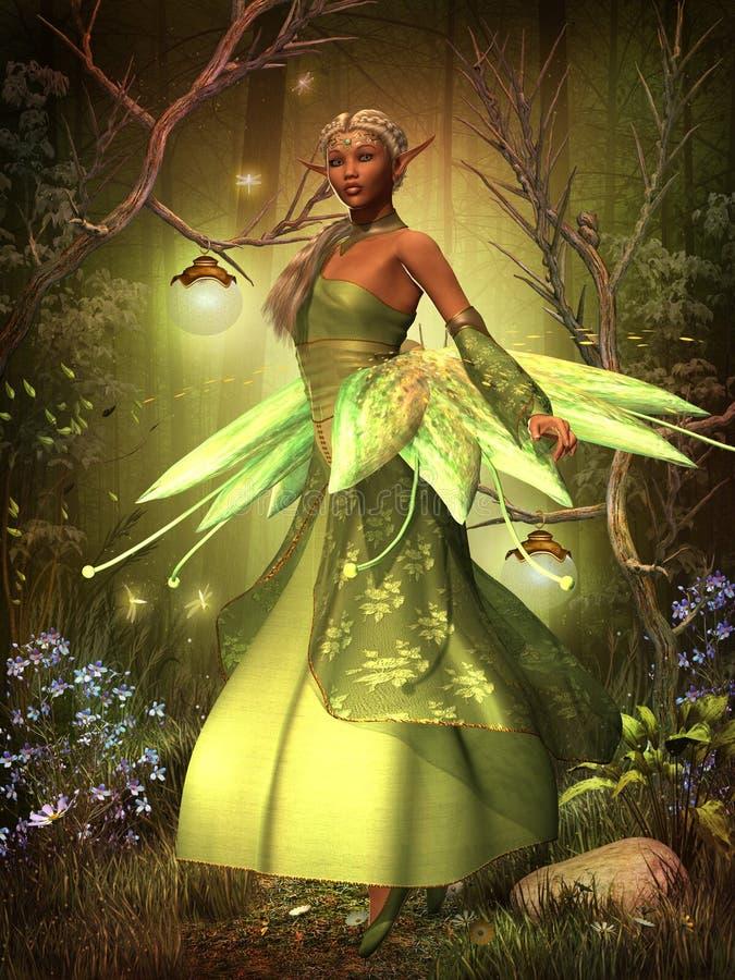 Felika ljus royaltyfri illustrationer