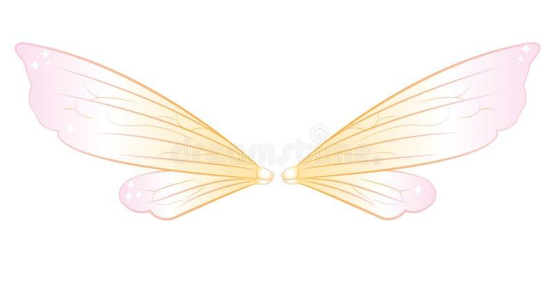 felika vingar vektor illustrationer