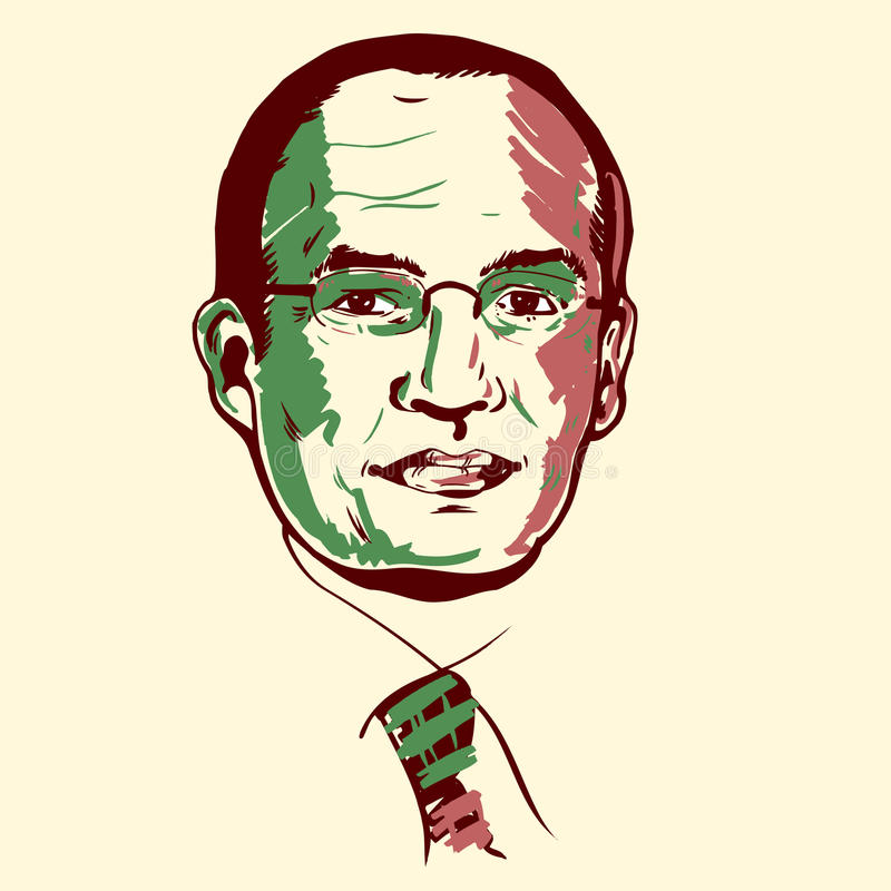 Download Felipe Calderon portrait editorial stock image. Illustration of news - 10227869