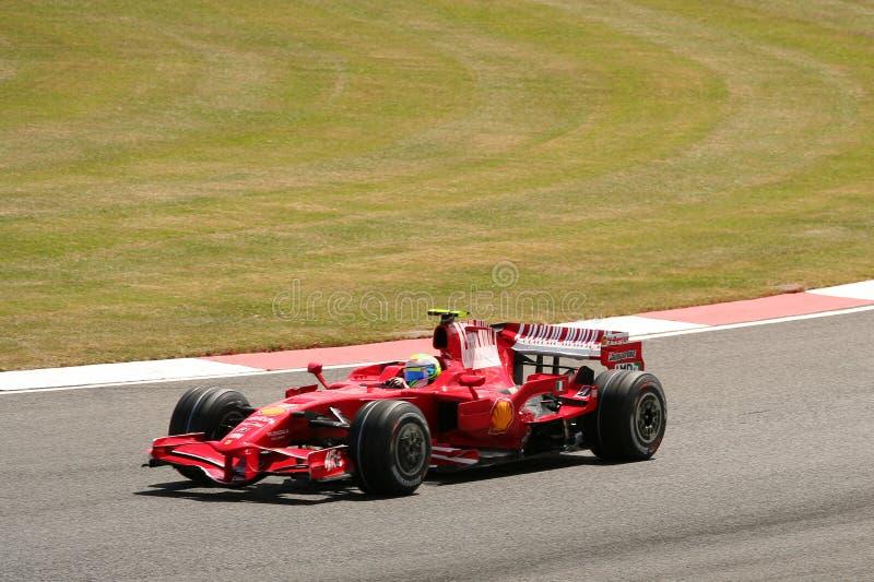 Felipe f 1, panie grand prix obrazy stock