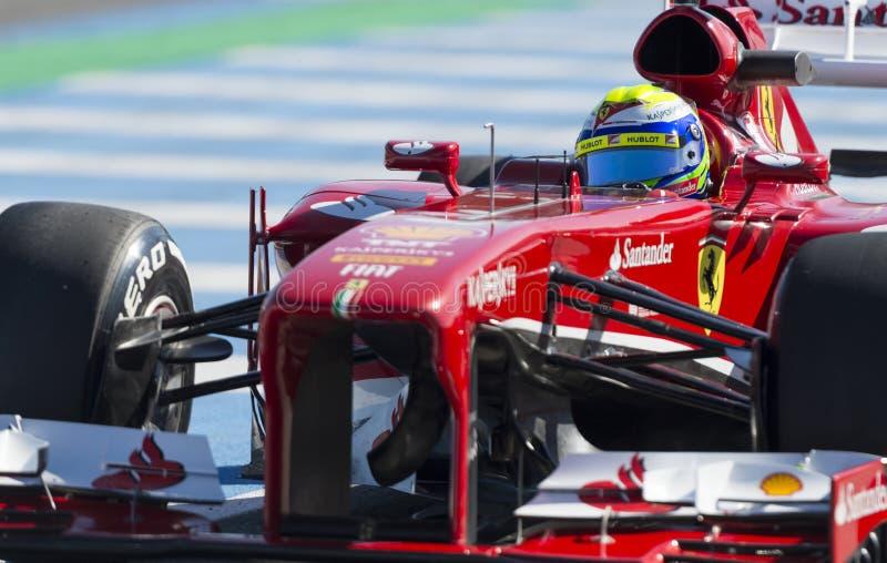 Felipe Massa zdjęcie stock