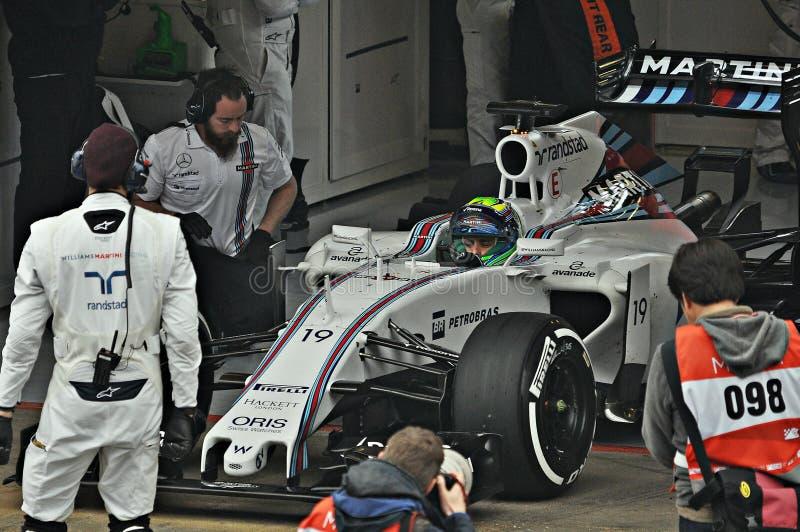 Felipe Massa stockbilder