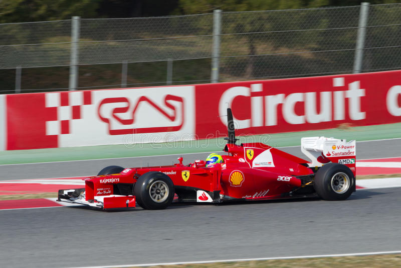 Felipe Massa (BRA) driving