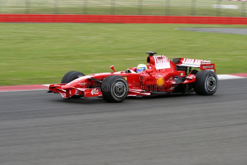 Felipe Massa Ferrari at Silverstone royalty free stock image