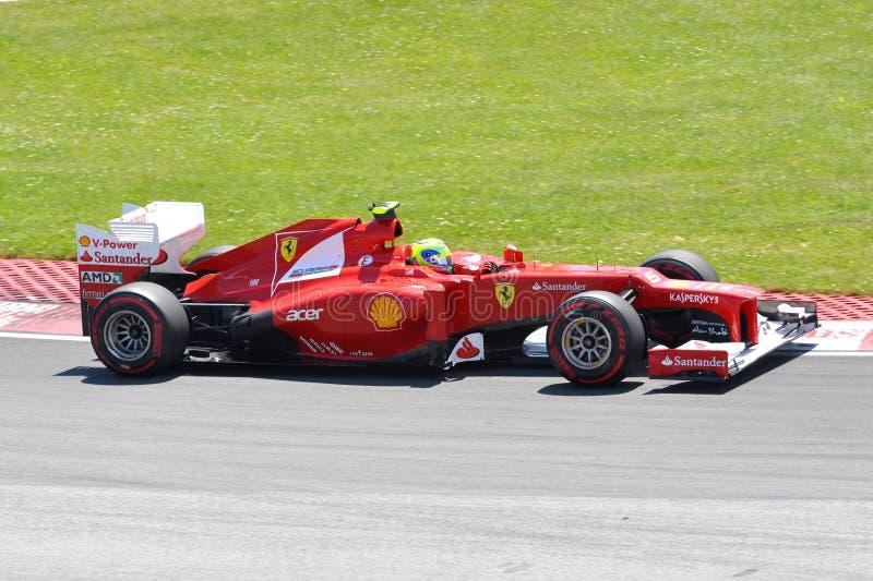 Felipe Massa nos 2012 F1 Prix grande canadense foto de stock