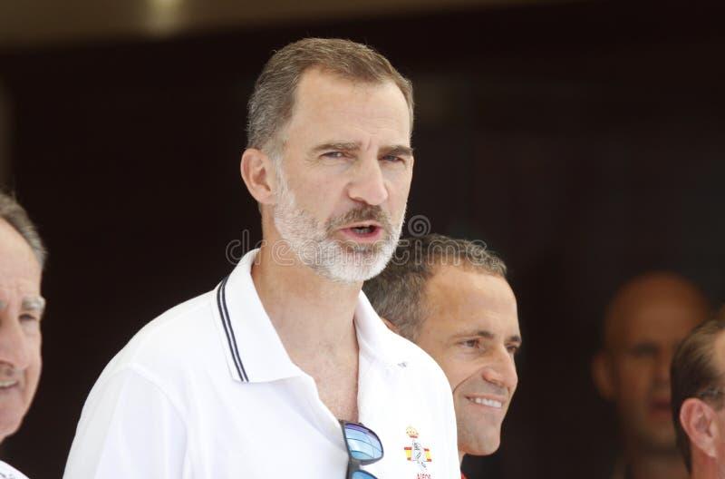 Felipe VI royalty-vrije stock fotografie