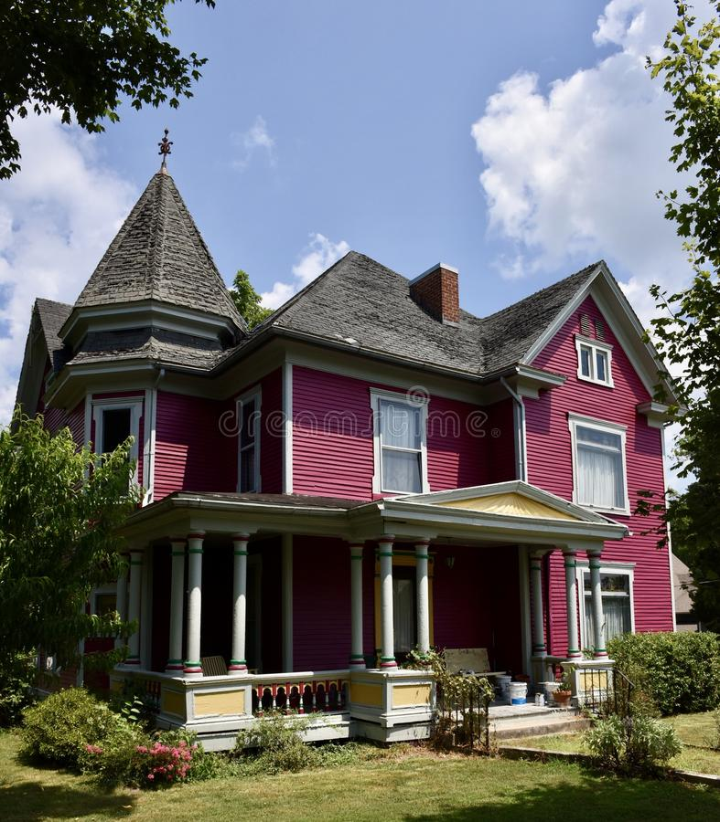 Felix Grasty House fotografia stock