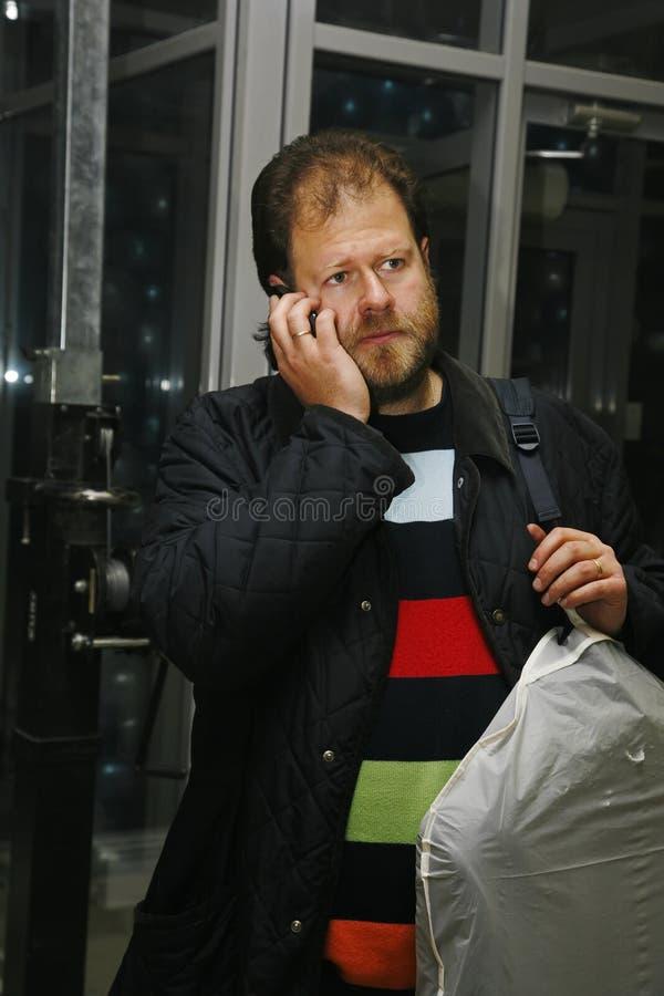 Felix Nevelev, St Petersburg TV e relatore radiofonico, giornalista immagini stock