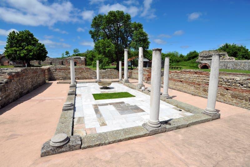 Felix Romuliana, αρχαία ρωμαϊκή archeological περιοχή, Σερβία στοκ φωτογραφία