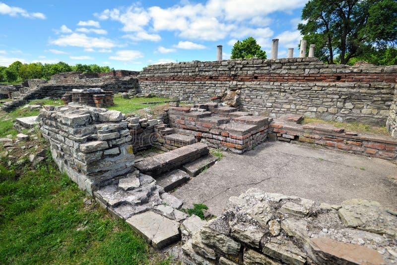 Felix Romuliana, αρχαία ρωμαϊκή archeological περιοχή, Σερβία στοκ φωτογραφίες