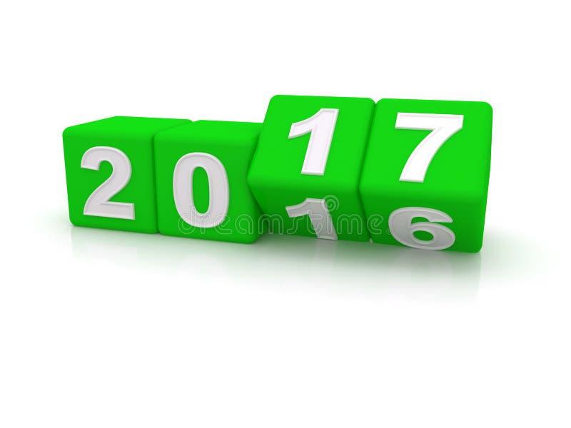 Feliz Año Nuevo 2017 libre illustration