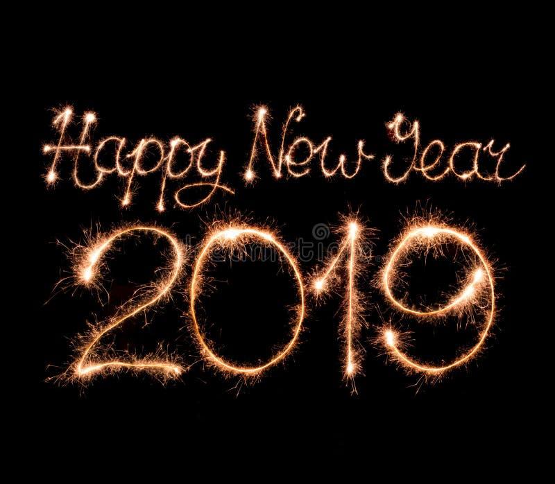 Feliz Año Nuevo 2019 imagen de archivo