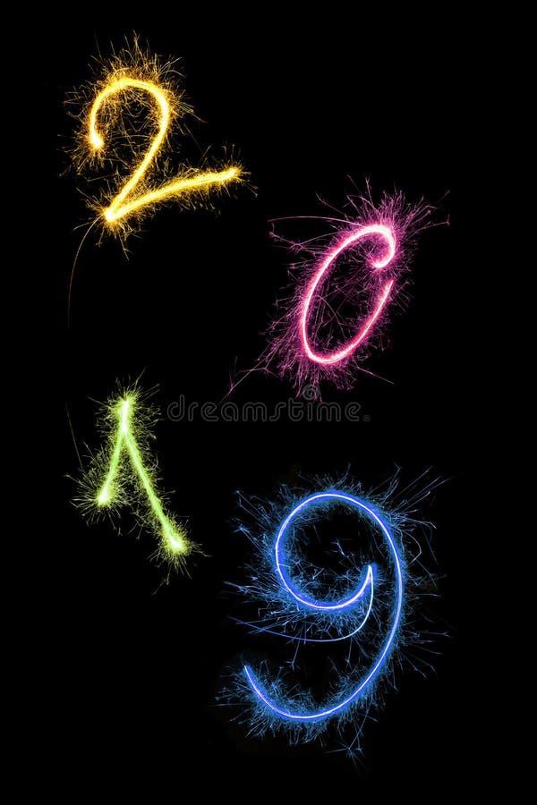 Feliz Año Nuevo 2019 libre illustration