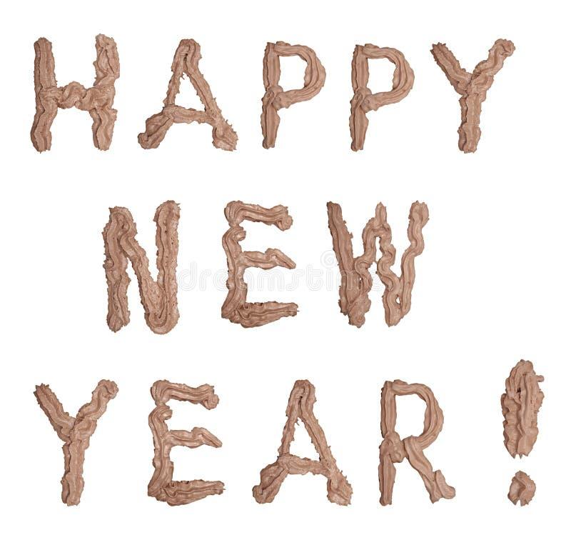 Feliz Año Nuevo foto de archivo