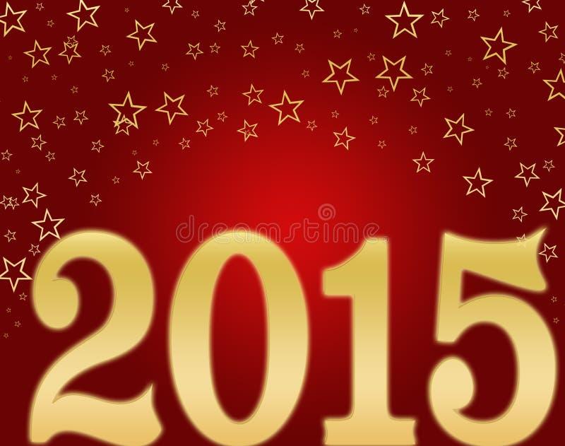 Download Feliz Año Nuevo 2015 stock de ilustración. Ilustración de prueba - 44855753