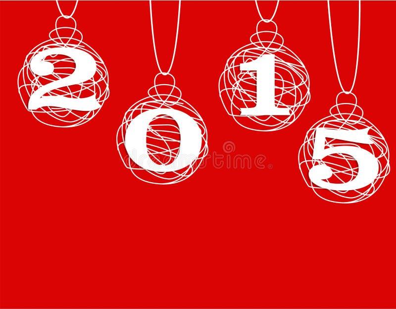Download Feliz Año Nuevo 2015 stock de ilustración. Ilustración de fondo - 44856247