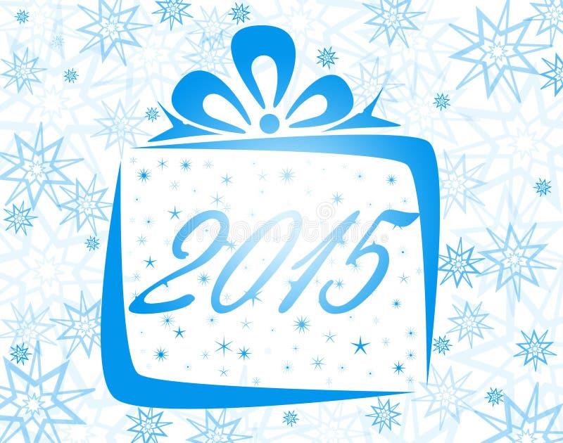 Download Feliz Año Nuevo 2015 stock de ilustración. Ilustración de línea - 44856923