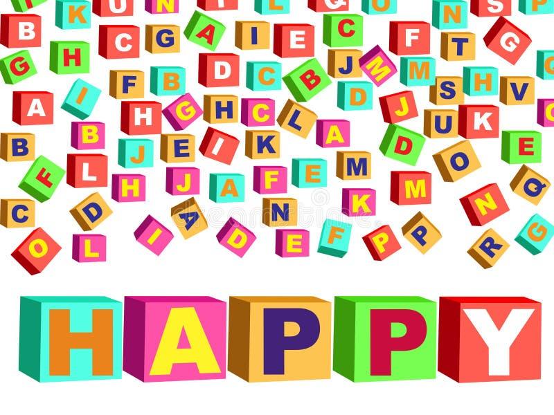 Download Feliz Año Nuevo stock de ilustración. Ilustración de alfabético - 7282433
