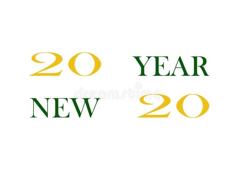 Feliz Año Nuevo de la imagen libre illustration