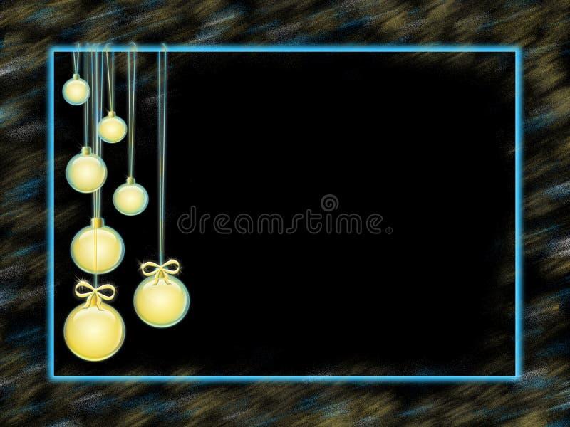 Feliz Año Nuevo de la tarjeta de felicitación ilustración del vector