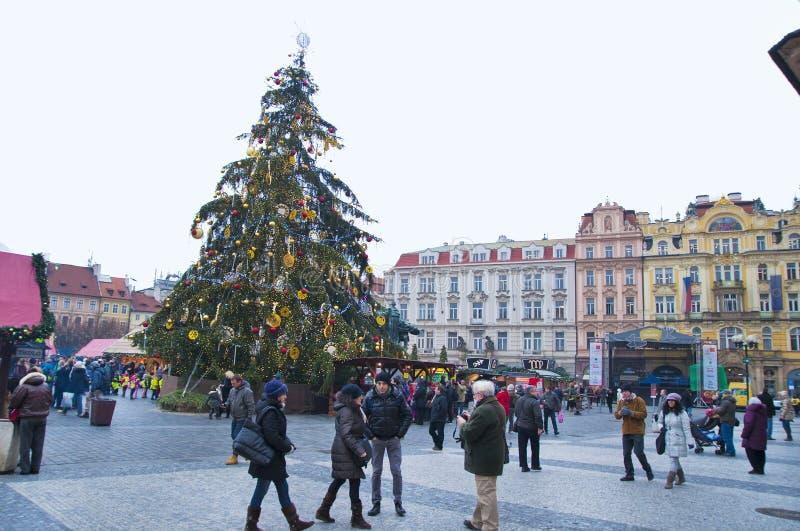 ¡Feliz Año Nuevo de Praga! imágenes de archivo libres de regalías