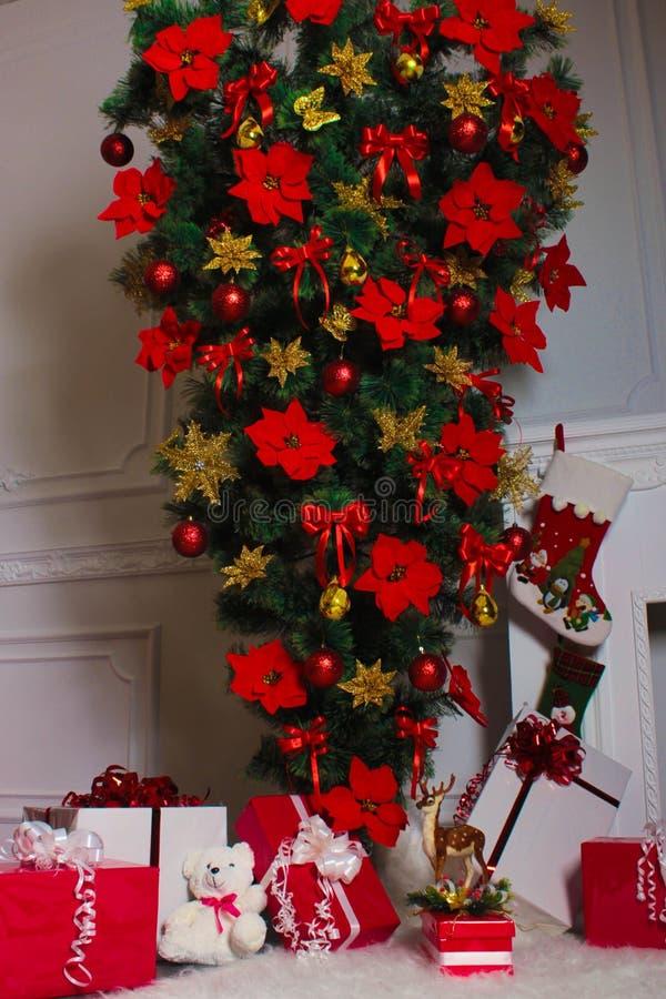 Feliz Año Nuevo, el Año Nuevo wallpapers, la Navidad fotos de archivo