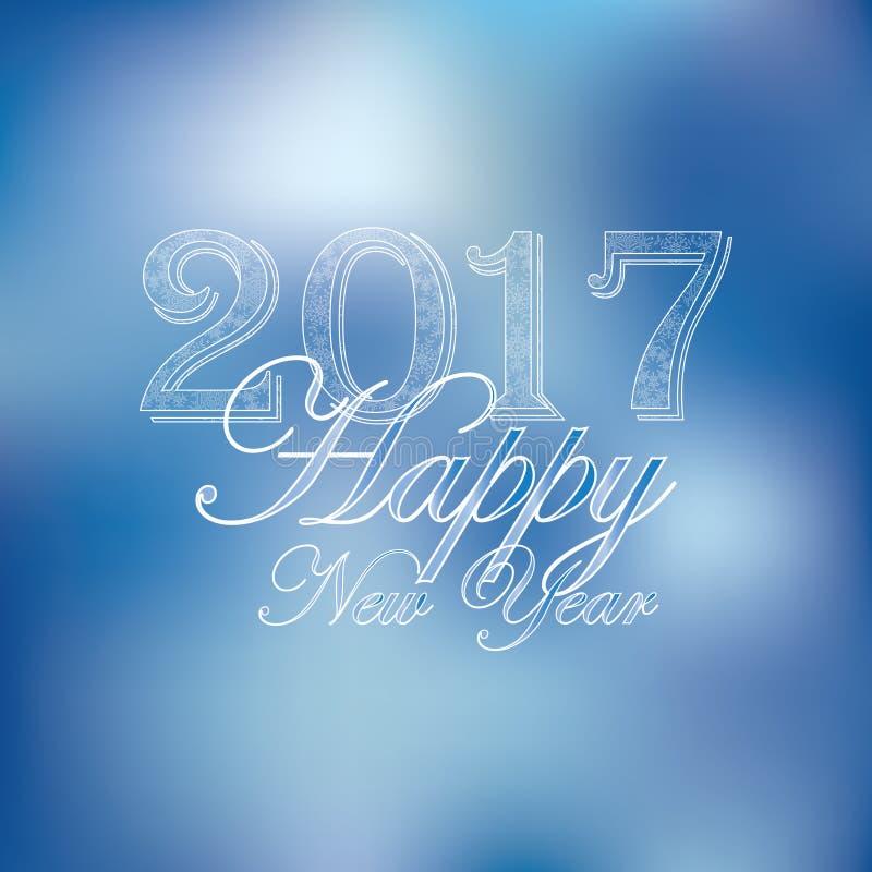 Feliz Año Nuevo Ilustración del vector libre illustration