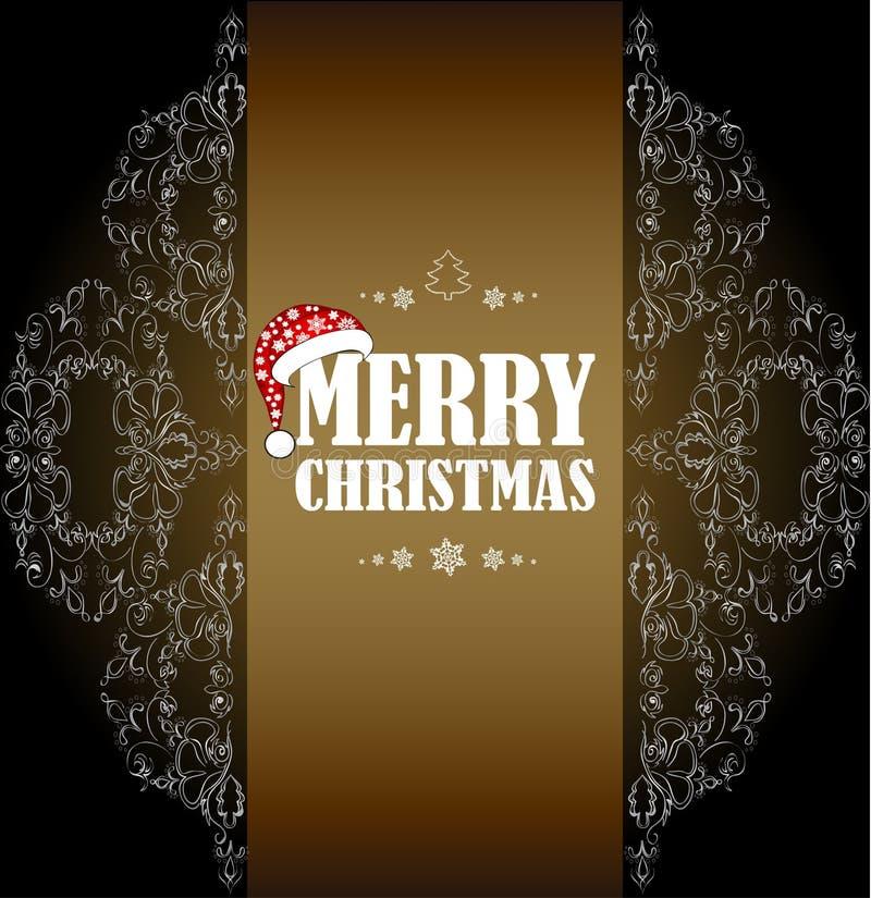 Feliz Año Nuevo y Feliz Navidad imagen de archivo