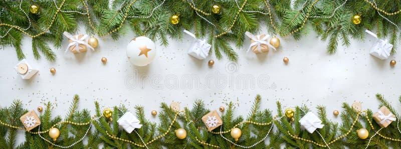 Feliz Año Nuevo y Feliz Navidad Fondo fotografía de archivo