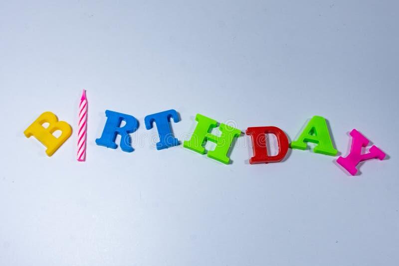 Feliz aniversário imagens de stock royalty free