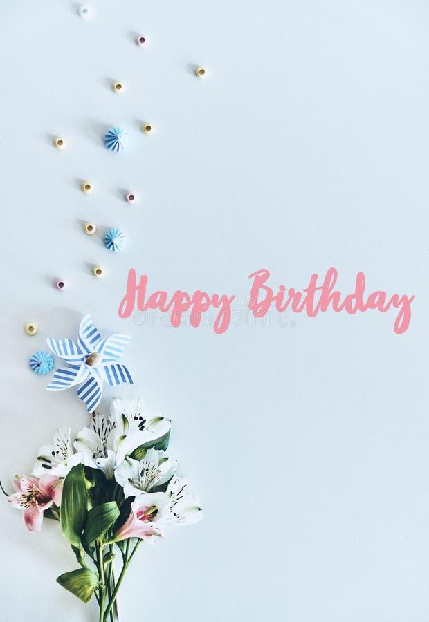 Feliz aniversario! fotografia de stock royalty free