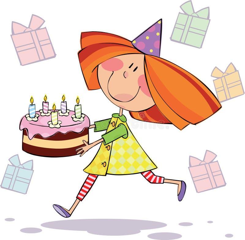 Feliz aniversario! ilustração royalty free