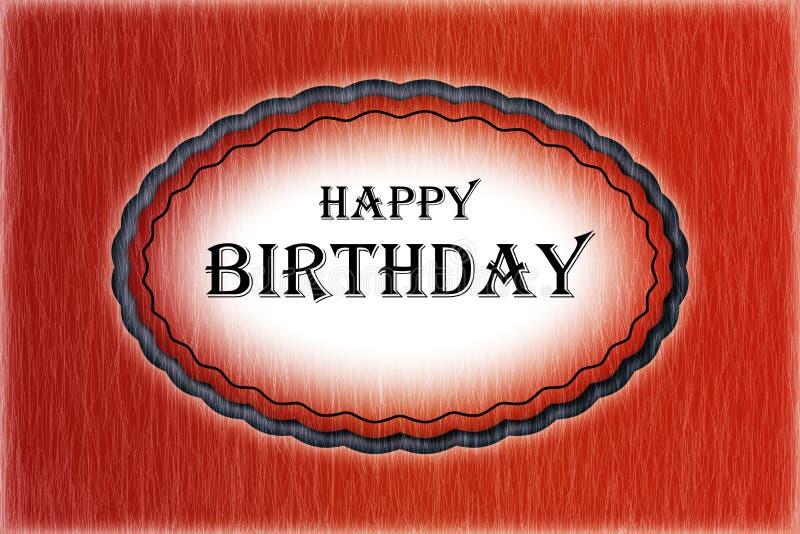 Feliz aniversario - cartão imagens de stock royalty free