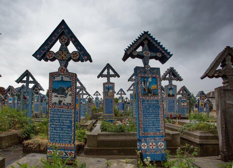 Feliz cementerio fotografía de archivo