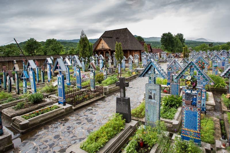 Feliz cementerio imagenes de archivo