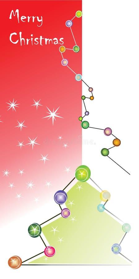 Feliz Cristmas stock de ilustración