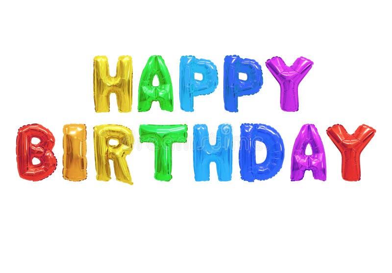 Feliz cumpleaños imágenes de archivo libres de regalías