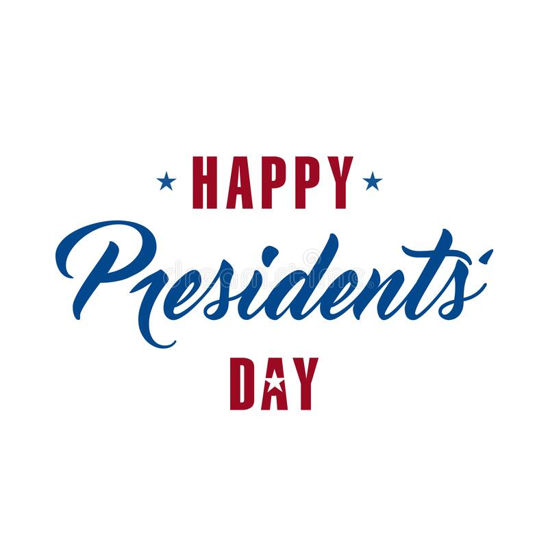 Feliz Día de los Presidentes fotografía de archivo libre de regalías