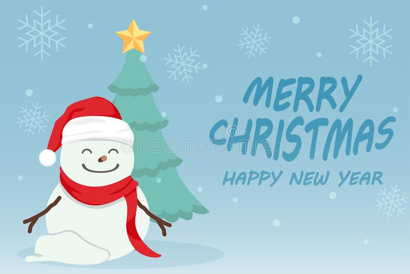 Feliz Natal 03 ilustração stock