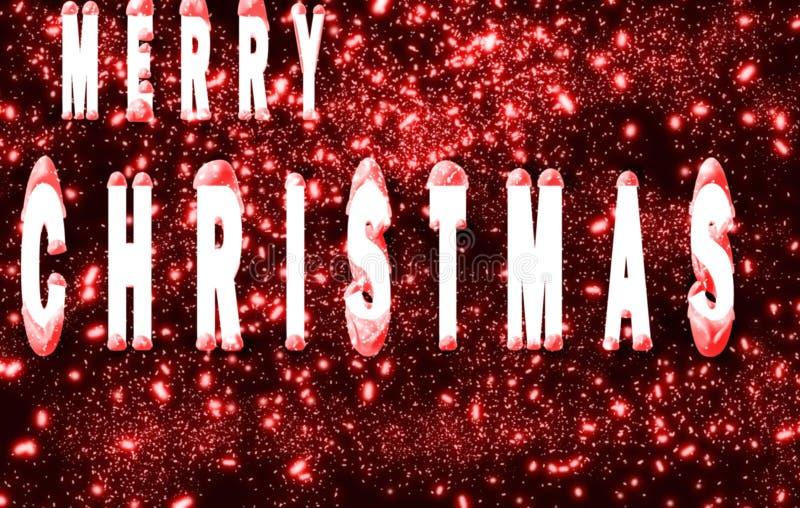 Feliz Natal 2014 ilustração do vetor