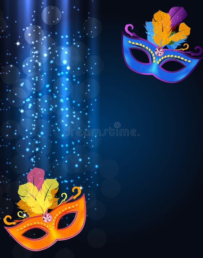 Feliz Natal da beleza e fundo abstratos do partido do ano novo ilustração royalty free