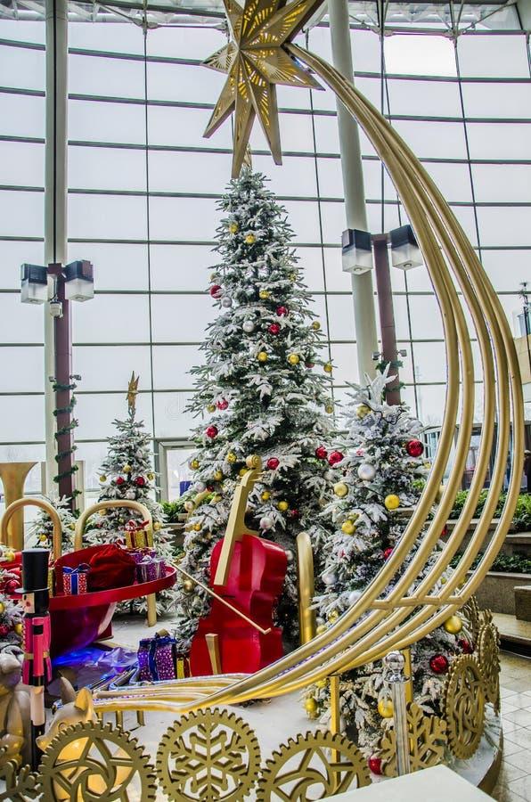 Feliz Natal e ano novo feliz imagem de stock royalty free