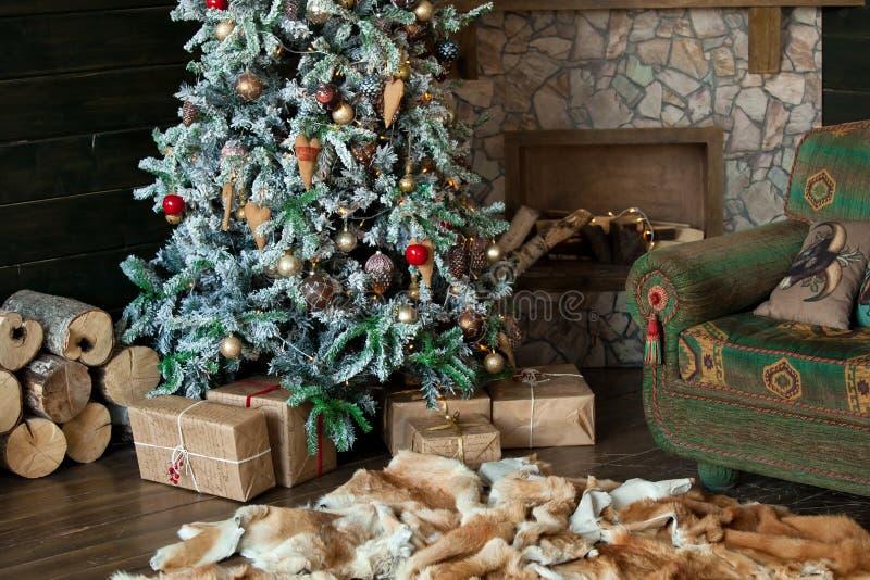 Download Feliz Natal E Fundo Do Ano Novo Foto de Stock - Imagem de interior, lifestyle: 80100274