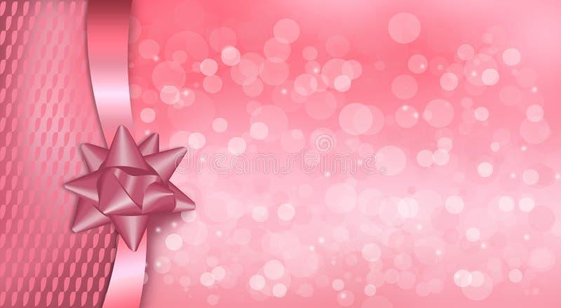 Feliz Natal e um ano novo feliz ilustração stock