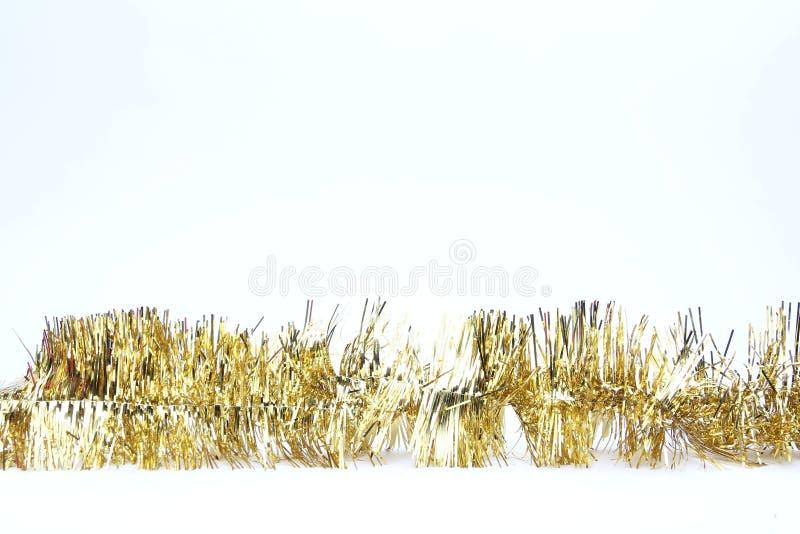 Feliz Natal na frente de um fundo branco fotografia de stock