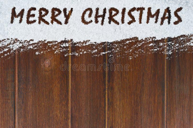 Download Feliz Natal na neve imagem de stock. Imagem de cartão - 80102503