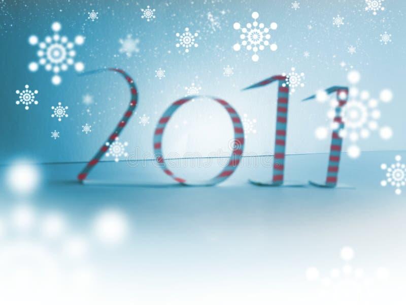 Feliz Navidad 2011 fotos de archivo