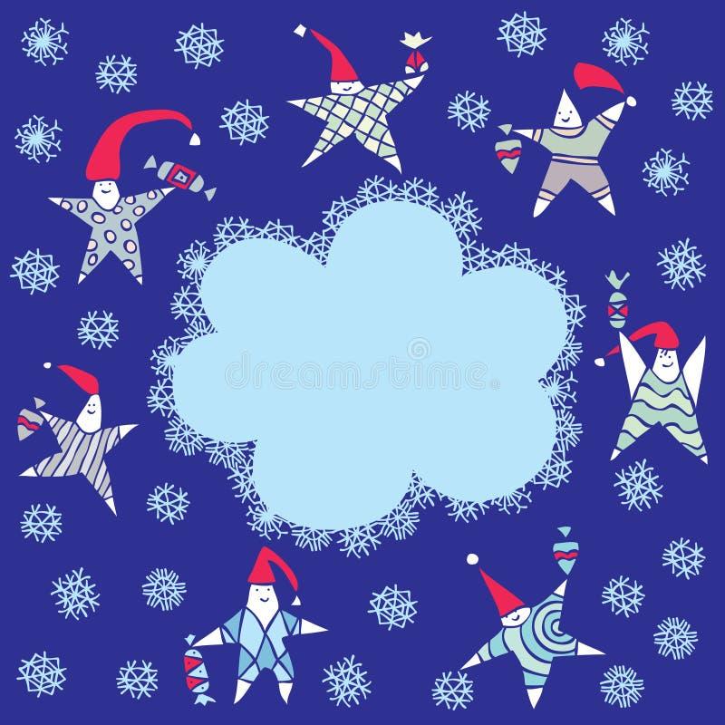 Feliz Navidad ilustración del vector