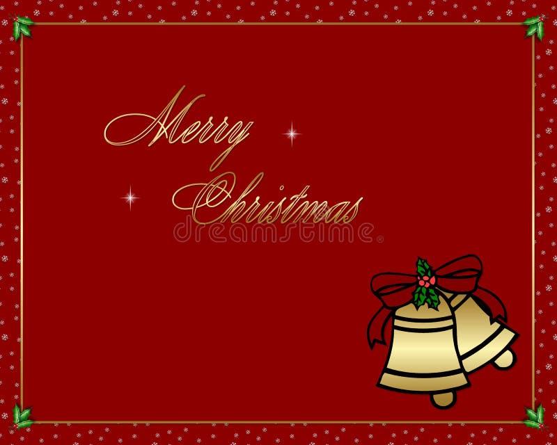 Feliz Navidad 4 ilustración del vector
