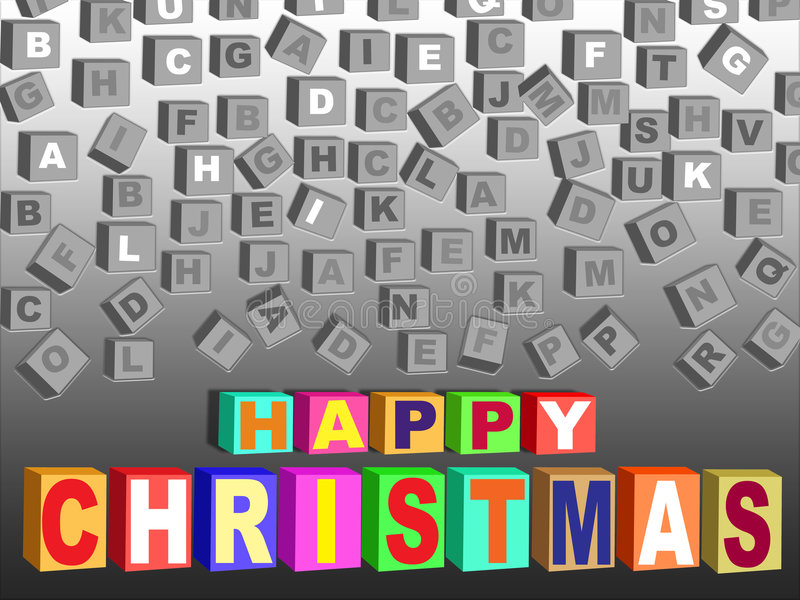 Download Feliz Navidad stock de ilustración. Ilustración de feliz - 7281643